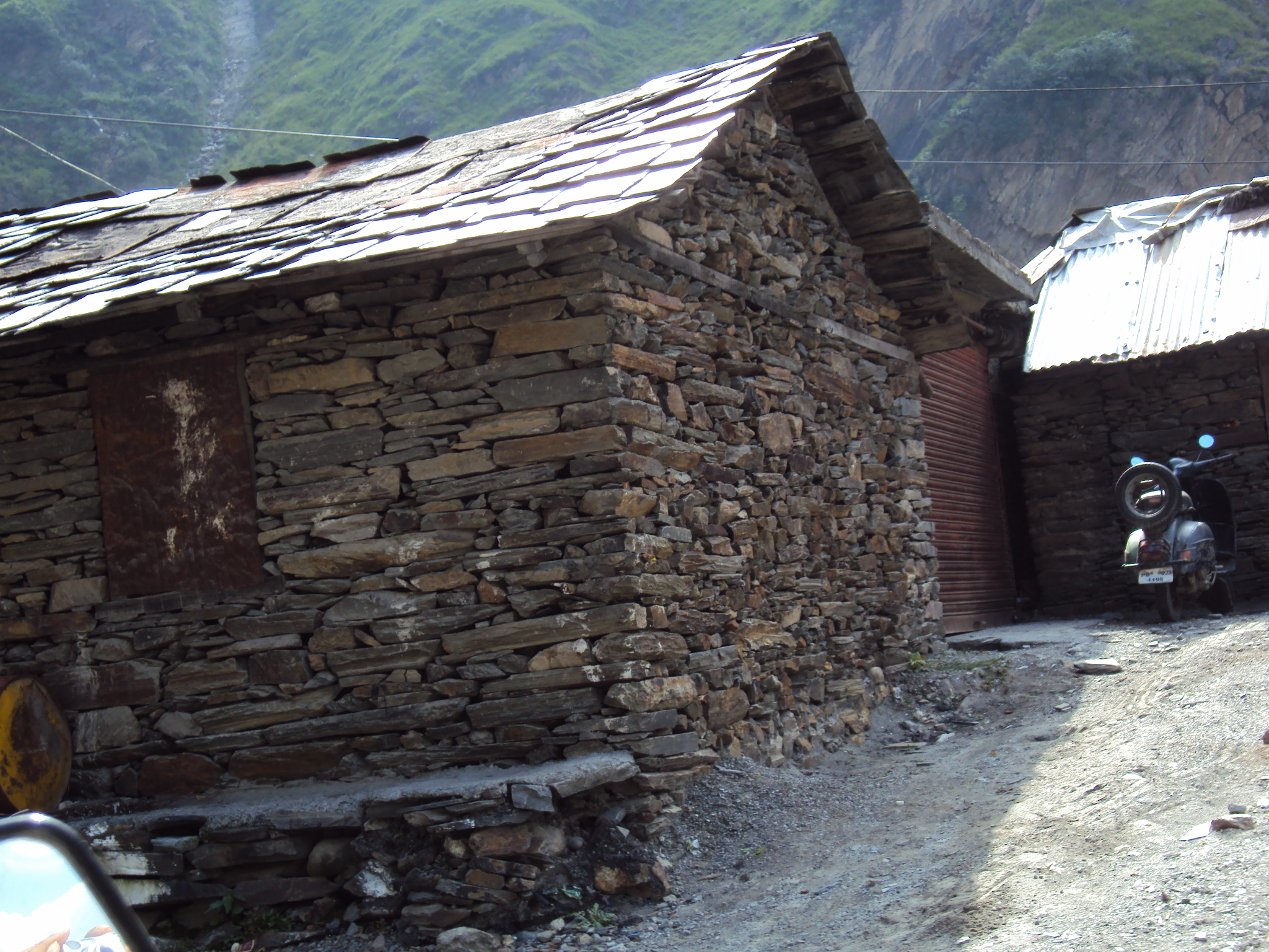 Dry Stone Building That Means A Stone Building Without